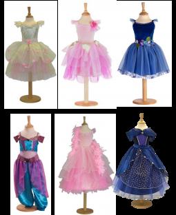Kostumesæt piger