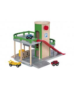 BRIO Rail & Road parkeringshus