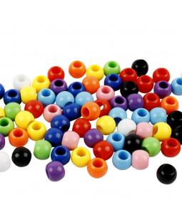 Kongo perler, 6-10 mm.