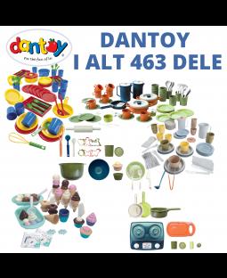 Kæmpe Dantoy sæt - 463 dele