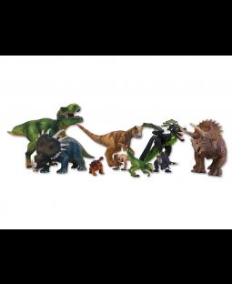 Schleich- Dinosuar, 9 stk.