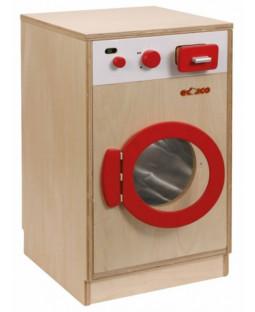 Vaskemaskine i træ