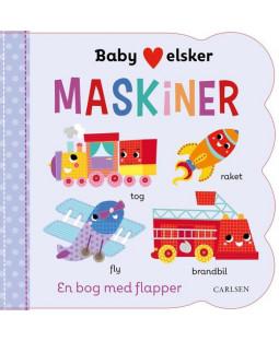 Baby elsker MASKINER