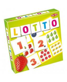 Lotto - Frugter og tal