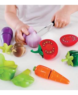 Grøntsager fra haven - legemad