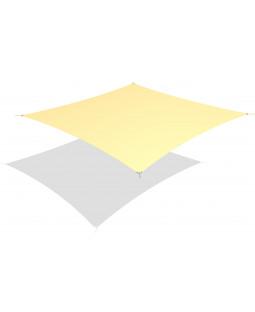 Solsejl kvadratisk 4x4 m