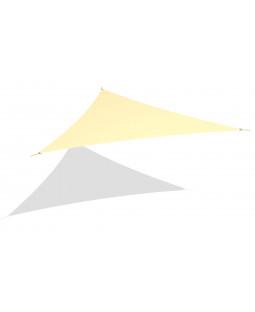 Solsejl trekant 4x4x4 m