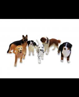 Hundesæt, 7 stk. Schleich