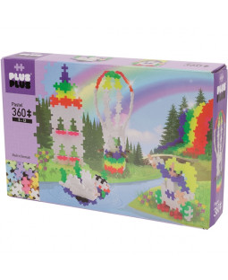 Plus-Plus Basic Rainbow Hot Air Ballon 360 Dele