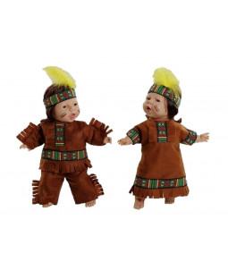Indianer-dukker