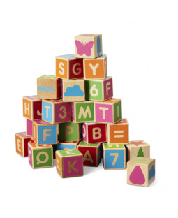 Byggeklodser alfabet