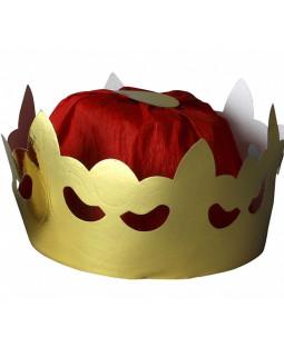 Sæt med konge- og dronningekroner