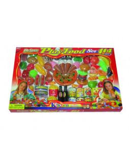 Deluxe legemad i plast, 114 dele