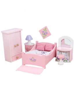 Dukkehusmøbler - soveværelse
