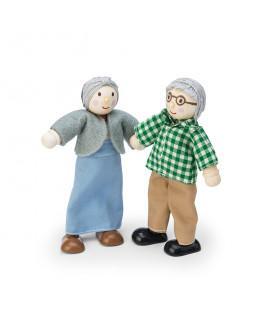 Budkins bedsteforældre