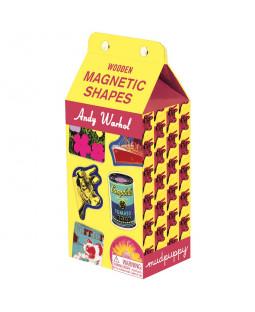 Træmagneter - Andy Warhol
