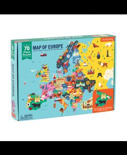 Puslespil Europa, 70 brk