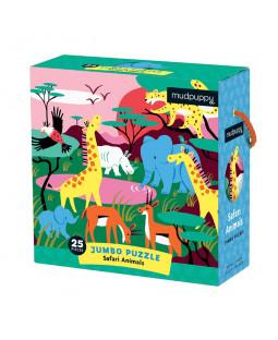 Jumbo puslespil 25 brk - Safari
