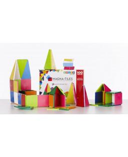 Magna-Tiles, 100 dele, farvede