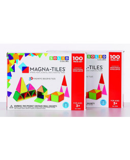 Magna-Tiles, 200 dele, farvede