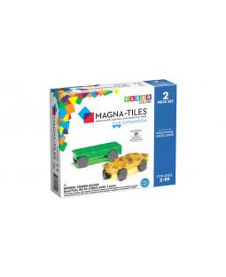 Magna-Tiles udvidelsessæt med 2 biler