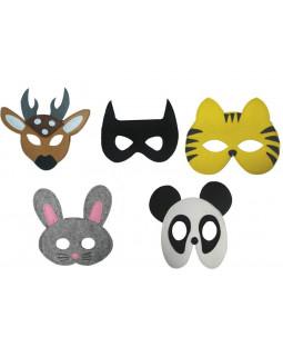 Filtmasker 5 stk, dyr