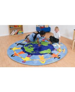 Jorden rundt tæppe