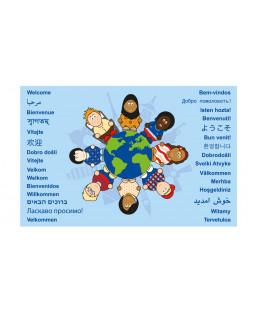 Verden Børn, Velkommen Tæppe