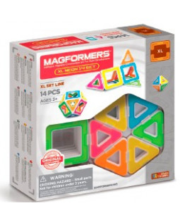 Magformers XL neon 14 set