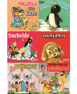 Pixi-serie Nostagi, 6 bøger