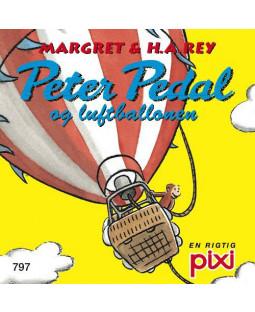 Pixi-Serie Peter Pedal, 8 bøger