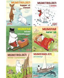 Pixi-Serie Mumi, 6 bøger