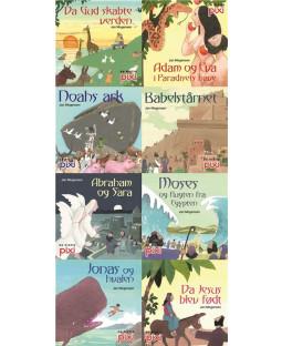 Pixi-Serie Pixi-biblen, 8 bøger