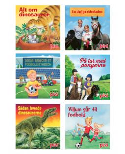 Pixi-Serie Fakta, 6 bøger