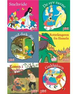 Pixi-Serie Brødrene Grimms eventyr, 6 bøger