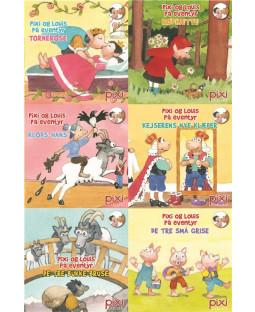 Pixi-Serie Pixi og Louis på eventyr, 6 bøger