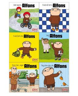 Pixi-Serie Alfons Åberg, 6 bøger