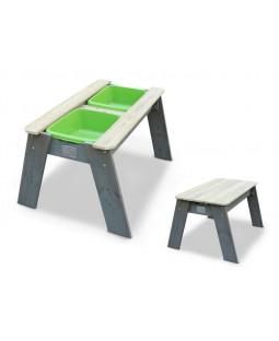 Vand og sand bord m stol