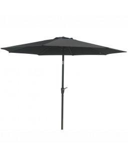 3 parasoller og 3 parasolfødder