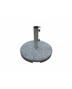 Parasolfod 35 kg granit