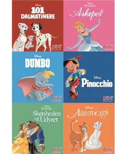 Pixi-serie Disney-klassikere, 6 bøger
