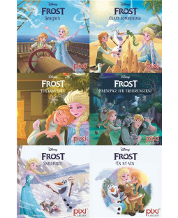 Pixi-serie Frost, 6 bøger