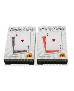 Spillekort i plast