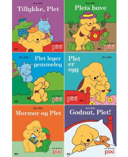 Pixi-serie Plet 1-6, 6 bøger