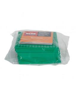 Plus Plus byggeplader, 12 stk. grøn