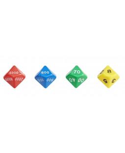 Polyhedralterninger, 4 stk.