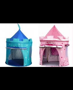 2 Pop-up telte Prins / Prinsesse