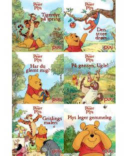Pixi-Serie Peter Plys #3, 6 bøger