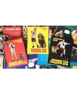 Sebastian Klein bogpakke - 7 bøger