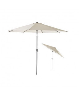 3 parasoller og 3 parasolfødder (25 kg)